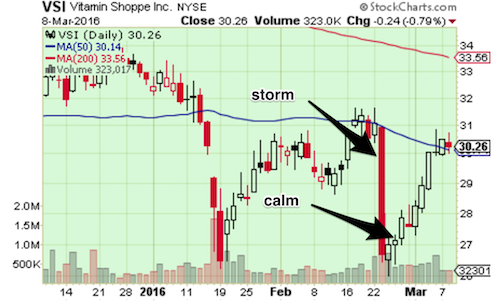 VSI calm after the storm post-earnings setup